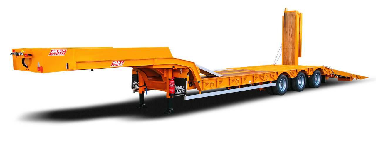 AMC CASTERA, semi-remorque porte-engins 3 essieux