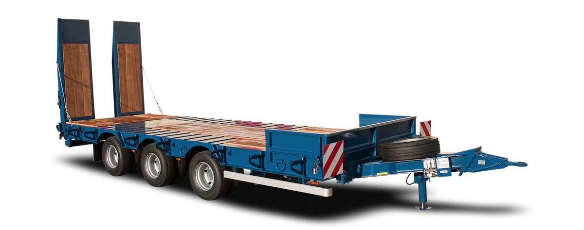 AMC CASTERA remorque porte engin 3 essieux